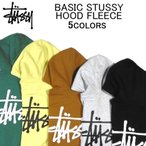 ステューシー パーカー STUSSY BASIC STUSSY HOOD FLEECE スウェット・フリース・プルオーバー・フーディー・フード・トップス・メンズ(男性用)