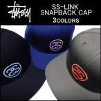 『30%オフ』STUSSY(ステューシー) SS-LINK SNAPBACK CAP
