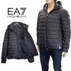 エンポリオアルマーニ EMPORIO ARMANI EA7 ダウン 中綿 ダウンジャケット 6XPB01-PN24Z-1200-ブラック/黒