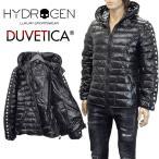 ハイドロゲン デュベティカ コラボ ダウンジャケット 23D008-007 BLACK