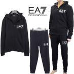 エンポリオアルマーニ EMPORIO ARMANI EA7 ジャージ セットアップ/上下SET 3YPV52-PJ08Z-1200 ブラック/黒