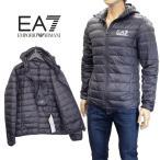 エンポリオ アルマーニ EMPORIO ARMANI EA7 ダウンジャケット ライトダウン 8NPB02-PN29Z-1200 ブラック