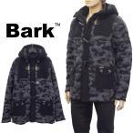 バーク Bark ニットダッフル リアルファー 62B8006/C-261 BLACK