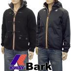 ショッピングダッフル バーク Bark×K-WAY コラボ ニットダッフル リバーシブル 62K8109-369 BLACK×BLACK
