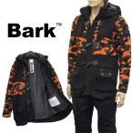ショッピングダッフル バーク BARK ニットダッフル フード付き カモフラージュ オレンジ 72B8028-0258 ORANGE