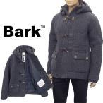 バーク BARK ニットダッフル ショート丈 裏地あり バーク織り 62B8010-251 GREY