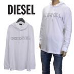 ディーゼル DIESEL ロンT 長袖 Tシャツ バックプリント ブラック SHCW-0091A T-JUST-LS-WB-900