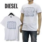ディーゼル Tシャツ サボテンプリント SCQ8-0091B T-DIEGO-SL-100 ホワイト