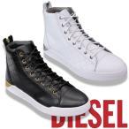 ショッピングDIESEL ディーゼル DIESEL メンズ ハイカット レザー スニーカー ダイヤモンド Y00791-P1283 DIAMOND 全2色