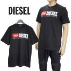 ディーゼル DIESEL Tシャツ DIESELロゴ ブラック SH0I-0CATJ T-JUST-DIVISION-900