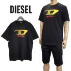 ディーゼル DIESEL Tシャツ Dロゴ ブラック SSPQ-0091A T-JUST-Y4-900