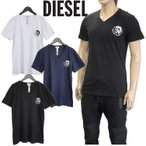 ショッピングDIESEL ディーゼル VネックTシャツ 3枚セット SPDM-0AALW UMTEE-JAKE-V THREEPACK 3枚組