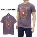 ショッピングused ディースクエアード DSQUARED2 Tシャツ USED加工 GD0516-S22427-814 グレー