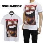 ディースクエアード DSQUARED2 Tシャツ メンズ 半袖 ホワイト GD0564-S22427-100