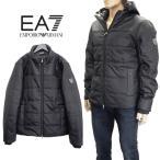 エンポリオアルマーニ EMPORIO ARMANI EA7 ダウン パーカー 中綿 ジャケット 迷彩 6XPB56-PN47Z-1200-ブラック/黒