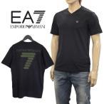 エンポリオ アルマーニ EMPORIO ARMANI ロンT ロゴ ブラック 6XPT88-PJ20Z-1200 ブラック