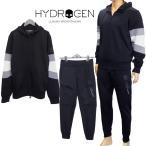 ハイドロゲン HYDROGEN セットアップ スカル パーカー スウェットパンツ 上下セット 250624/250626-007 BLACK ブラック リフレクター