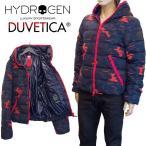 HYDROGEN BY DUVETICA コラボ ダウンジャケット メンズ ディオニシオ DIONISIO 迷彩 25D003-400 BLUE CAMOUFLAGE