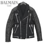 バルマン BALMAIN ライダースジャケット W5HJ263D137C-176 NOIR/BLACK【訳あり】