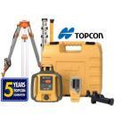 Topcon(トプコン) RL-H4C 回転レーザー水平レベル (充電式バッテリー) w/ 三脚 & Rodパッケージ