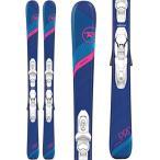 Rossignol Experience Pro/Kid-X 4 Ski Package Girl's Sz 116cm 並行輸入品