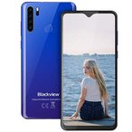 Blackview A80 Pro-6.49 inches Smartphone, 4GB RAM+64G ROM Unlocked Cell Phone with Quad Camera 13MP, 4680mAh Battery, 4G Global Version Dual SIM Phone