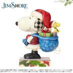 ジムショア スヌーピークラウスサンタ スヌーピーとウッドストックフィギュアが登場 スヌーピー 4057672 Here Comes Snoopy Claus-Santa Snoopy and Woodstock