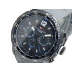 ショッピングHILFIGER トミー ヒルフィガー TOMMY HILFIGER クオーツ メンズ 腕時計 1790888 ブラック x グレー
