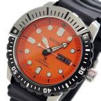 セイコー SEIKO プロスペックス PROSPEX メンズ 自動巻き 腕時計 SRP589K1 オレンジ x ブラック ダイバーズ
