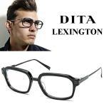 DITA ディータ LEXINGTON ウェリントン スクエア 伊達 眼鏡 めがね ブラック / マット ブラック DRX-2033A