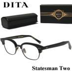 DITA ディータ STATESMAN TWO サーモント 伊達 眼鏡 メガネ マットブラック / ゴールド DRX-2051