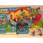 Fisher-Price Little People Musical Preschool Playset AND Little People Artist AND Little People Edd