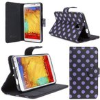 i-Blason Samsung Galaxy Note 3 Note III N9000 Smart Phone Leather Slim Book Case Cover with Stand