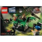 LEGO (レゴ) Studios Set #1370 Jurassic Park (ジュラシックパーク) 3 Raptor Rumble Studio ブロック