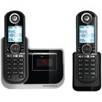 MOTOROLA DECT 6.0 Cordless Phone with Digital Answering System L802モトローラコードレス留守電付電