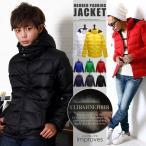 中綿 フード ジャケット メンズ ジャンパー ブルゾン フード脱着式中綿ジャケット improves 冬服 冬物 冬 送料無料