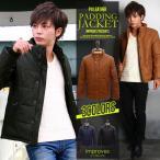 レザージャケット メンズ フェイクレザー中綿ジャケット improves 春服 春物 春 送料無料 プレゼント セール SALE