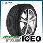 【2015年製】ICEO 165/55R15 75Q  FEDERAL フェデラル 日本向け最新スタッドレスタイヤ 165/55-15