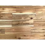 アカシア巾広無垢フローリング 節あり 自然オイル塗装 1820×15×120ミリ 7枚入