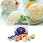 ショッピングアイスクリーム お中元 御中元 アイスクリーム ギフト 送料無料 ヤスダヨーグルト フローズンヨーグルト 型番:G1858