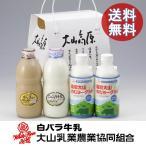ギフト 牛乳 詰め合わせ 送料無料 大山乳業 大山高原 ギフトミルク&のむヨーグルト 鳥取県 産地直送