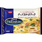 冷凍食品 パスタ 業務用 日清スパ王プレミアムベーコンとほうれん草のチーズカルボナーラ287g×14袋 ケース