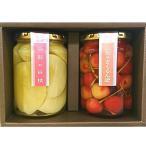 お歳暮 御歳暮 フルーツ ギフト お取り寄せ 送料無料 たかはた果樹園 コンポート2個セット(さくらんぼ・白桃)
