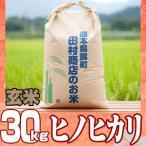 29年産 熊本県産☆ヒノヒカリ玄米30kg/精米無料