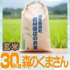 28年産 熊本県産★森のくまさん玄米30kg/精米無料