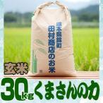 29年産熊本県産米 「くまさんの力」玄米30kg/精米無料