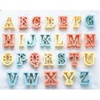 PCクッキー抜型 アルファベット 26pcs No.1733/業務用/新品