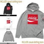 VISION STREET WEAR & Coca・Cola コラボパーカー パーカー プルパーカー ユニセックス 男女兼用 メンズ レディース