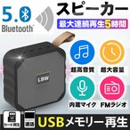 Bluetooth スピーカー ミニスピーカー 高音質 小型 重低音 800mAh 通話 スマホ ワイヤレス ステレオス 通話可能 FMラジオ対応