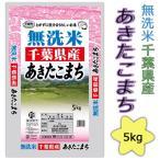 無洗米29年産 千葉県産あきたこまち5kg送料無料(北海道・沖縄・九州の場合は別途料金がかかります)